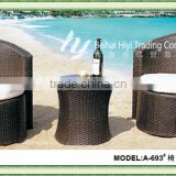 hot selling pe wicker outdoor furniture