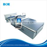 Full automatic textile fabric cloth cutting machine auto cutter mainly for coating fabric with feeding system