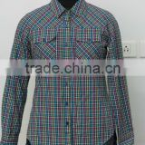 GINGHAM CHECKED LADIES SHIRT