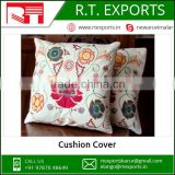 2017 Wholesale 100% Linen Cotton Stylish Cushion Cover