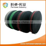 Polyester knitted elastic webbing on furniture