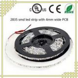 120led/M 2835SMD 4MM Width Superbright led flexible strip