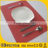 home decor vinyl mesh placemats for restaurants