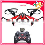 New design drone! 2.4G Quadcopter 3D Flip RC Toy Remote Control Helicopter LED Lights and Camera