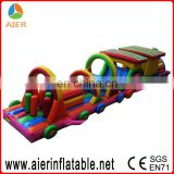 Children game inflatable obstacle course for sale