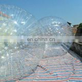 Transparent Human zorbing ball