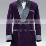Latest Men's Smoking jacket Dinner Suit wedding dress Jacket Tuxedo Blazer