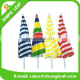 Colorful beach umbrella/outdoor beach umbrella