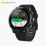 Original Xiaomi HUAMI AMAZFIT Stratos Smart Sports Watch 2 Version Support Strava 1.34 Inch 2.5D Screen 5ATM Water Resistant GPS Firstbeat Swimming Mode WOS 2.0 With Silicone Strap