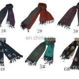 20150609 winter new Resurrection lady's scarf pure colour butterflya023