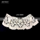New design hot sale guipure lace water for ladies collar