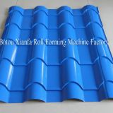step roof tile making machine