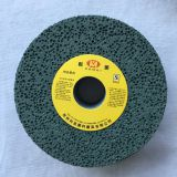Imported honeycomb large hole vitrified green silicon carbide grinding wheel for rubber etc