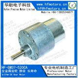 37mm Diameter Sanitary Ware DC Gear Motor with 12V / Customized Voltage Range GM37-520CA