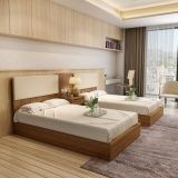 Customized laminated hotel furniture  hostel furniture dormitory furniture