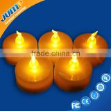 Colorful Electronic Flameless WAX led flicker flame candle light bulbs
