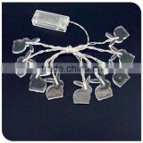 10LED Christmas rabbit light battery operated favtory wholesale