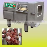 Frozen meat dicer machine/meat cube cutting machine /chicken meat cube dicer