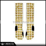 Customized Elite Emoji Basketball Socks