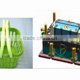 plastic injection daily use basket mould/fruit basket mould