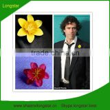 Cheap Wholesale Artificial Flower Heads(Used for cloth and other decoration)