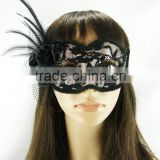 Custom plastic led party flashing eyes mask/Party Masks With Lights / Wire Lighting Party Mask