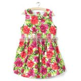 2016 latest paty wear child bady dress&dresses children cotton princess dress for girls