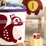 AN644 ANPHY Cartoon Organic Cotton Canvas Dirty Clothes Foldable Storage Box                                                                         Quality Choice