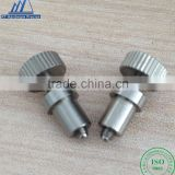 Special stainless steel binding post screw Cylinder with the tooth