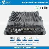 8CH HDD Mobile DVR For Long Truck, Double-deck Bus Support 8 Cameras