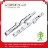 adjustable slide/desk drawer parts/ball bearing drawer slide