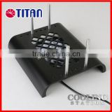 Set top box wifi router video TV mobile aluminum cooling holder stand