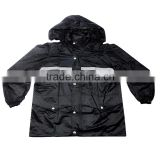Outdoor reflective split working duty raincoat XL motorcycle riding suit thickening