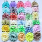 New design DIY handmade ribbon roses flower, chiffon shabby trim flower/fashion Promotional gifts accessories