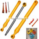weld hydraulic oil cylinder with steel oil pipe&fixed eye mounting