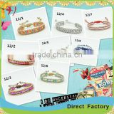 New arrivel leather cord with gemstone bracelet opal beads 1 row                                                                                                         Supplier's Choice
