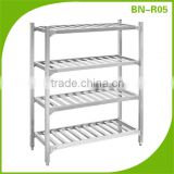BN-R05 Cosbao Stainless Steel heavy duty shelving display kitchen rack, design kitchen racks, storage rack