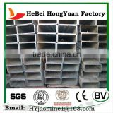Factory Directly Sale Hebei HongYuan Square Steel Pipe/2 Inch Black Iron Pipe