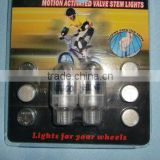 BICYCLE MOTION ACTIVATED VALVE STEM LIGHTS