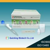 One step T-2 Toxin test kit(T-2 Toxin test/T-2 test/food safety test/lateral flow immunoassay /ISO9001/ISO1345 certified)