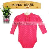 Carter's baby clothing girls lovely pink baby body