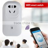 phone control zigbee wifi plug power socket Smart Home Wall Socket