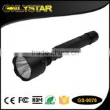 Onlystar GS-9078 using 2*18650 rechargeable batteries led flashlight cre q5 work lamp power strongest led torch