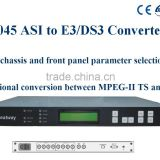 GASI045 ASI to E3/DS3 Converter/SDHD CATV Converter/ASI to E3/DS3 adapter
