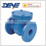 BS Standard Bronze or Brass Seal Ductile Iron Swing Check Valve
