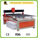 jinan high quality 1.5kw water cooling spindle ball screw cnc wood cutting mdf cutting machine price