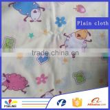 Wholesale cotton Cartoon print plain cloth fabric for baby                                                                         Quality Choice