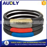 Best Sales OEM 13 inch leather design your steering wheel cover                                                                                                         Supplier's Choice