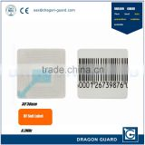 EAS Anti-theft Barcode Soft Labels RF Tag eas Sticker Magnetic Stripe Paper Label 3*3 CM 8.2MHz