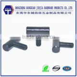 Factory Special Custom black galvanized round head T bolt